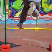 entrenamiento salto de vallas
